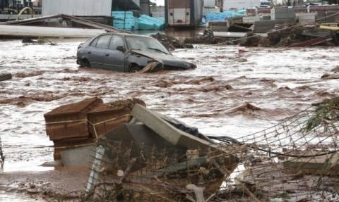 Σοκ στη Μάνδρα με σκελετό που ξέβρασε το ποτάμι ένα χρόνο μετά τις φονικές πλημμύρες