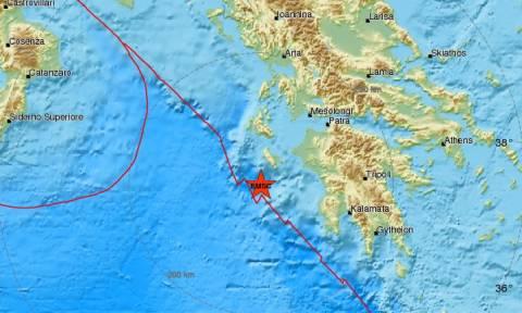 Σεισμός: Νέα μετασεισμική δόνηση κοντά στη Ζάκυνθο (pic)