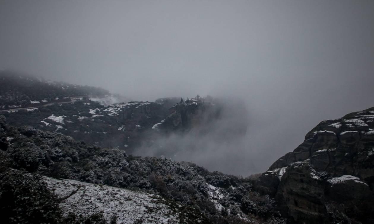 Καιρός: Με χιόνια και χιονόνερο η Τετάρτη - Πότε θα υποχωρήσουν τα φαινόμενα (pics)