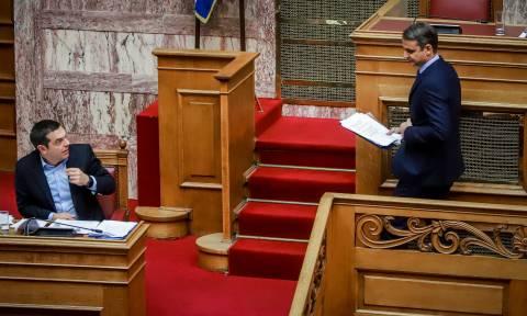 Προεκλογική σύγκρουση Τσίπρα - Μητσοτάκη - Πλησιάζουν οι κάλπες (vids)