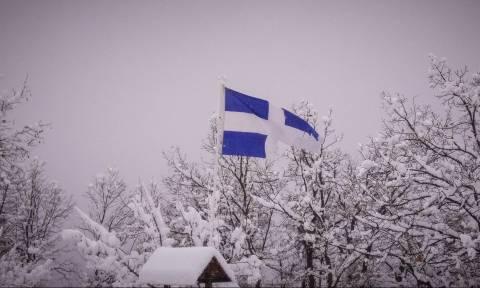 Καιρός: Το χιόνι κάλυψε το νομό Τρικάλων (pics)