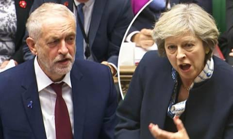 Σάλος στη Βρετανία: Ο Κόρμπιν έβρισε χυδαία την Τερέζα Μέι μέσα στη βουλή; Δείτε το βίντεο της οργής