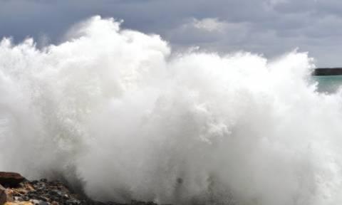 Καιρός: Eπικίνδυνα καιρικά φαινόμενα στο Ηράκλειο
