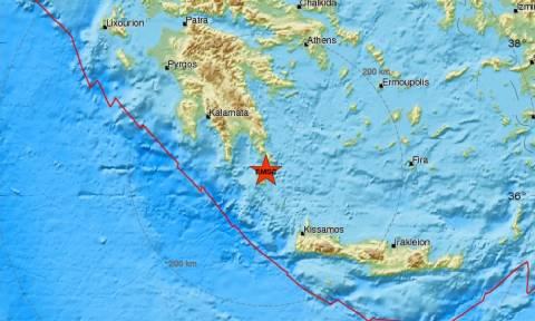 Σεισμός στα Κύθηρα (pics)