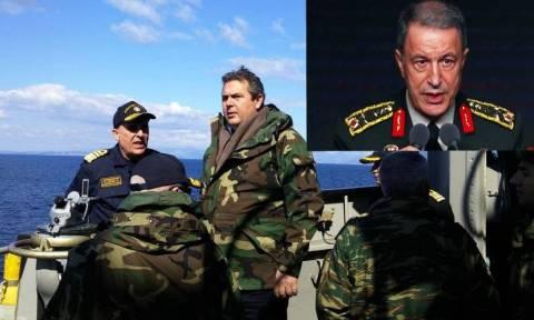 «Πόλεμος» με τους Τούρκους στο Αιγαίο - «Ψευτοτσαμπουκάδες», λέει ο Καμμένος