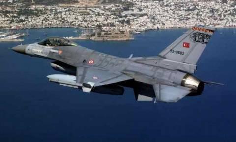 Αλώνισαν σήμερα στο Αιγαίο οι Τούρκοι: Έξι εικονικές αερομαχίες και 110 παραβιάσεις