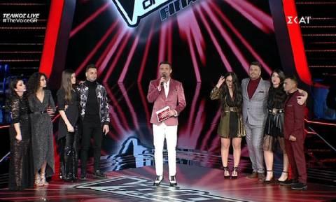 The Voice: Αυτοί είναι οι τέσσερις παίκτες από την οκτάδα που περνούν στον τελικό!