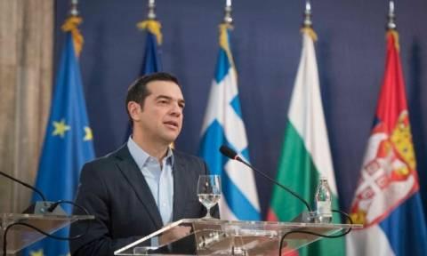 Στο Βελιγράδι ο Τσίπρας για την Τετραμερή Βουλγαρίας - Ελλάδας - Ρουμανίας - Σερβίας