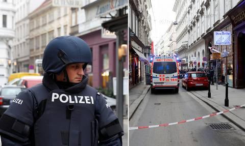 Πυροβολισμοί στο κέντρο της Βιέννης: Ένας νεκρός και ένας τραυματίας (pics)