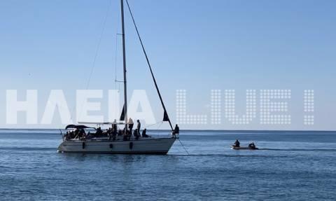 Σκάφος με μετανάστες εντοπίστηκε ανοιχτά της Κυπαρισσίας