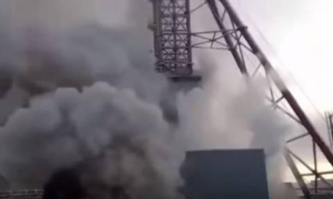 «Θρίλερ» στη Ρωσία: Εννέα μεταλλωρύχοι παγιδεύτηκαν σε ορυχείο ποτάσας (vid)