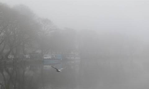 Μαγικό τοπίο στην… ομίχλη: Τα Ιωάννινα «εξαφανίστηκαν» (pics)