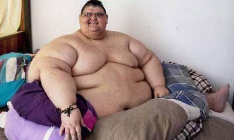 Ο πιο βαρύς άνθρωπος του πλανήτη! Εχασε 300 κιλά και συνεχίζει... (video)