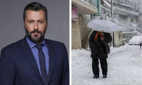 Καιρός – Προειδοποίηση Καλλιάνου: Χιόνια την Τετάρτη και στα χαμηλά της Αττικής