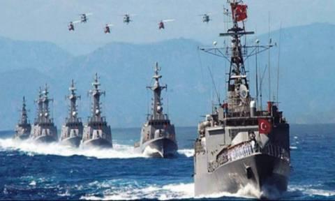 Οι Τούρκοι «περικυκλώνουν» Χριστουγεννιάτικα την Κύπρο