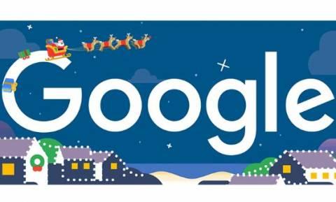 Καλές γιορτές! Το doodle της Google με ευχές για τα Χριστούγεννα