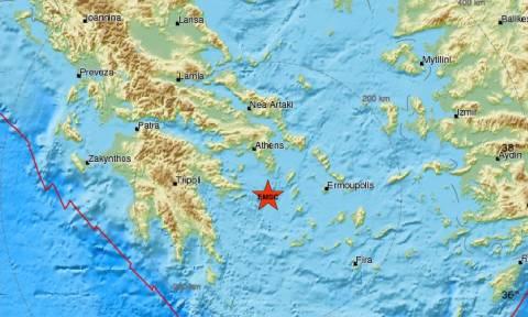 Σεισμός νότια της Αττικής - Αισθητός σε πολλές περιοχές (pics)