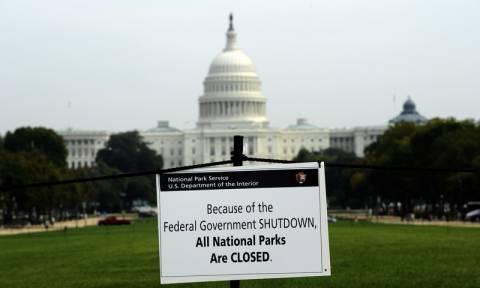 ΗΠΑ: Το shutdown πιθανόν να διαρκέσει μέχρι τον Ιανουάριο