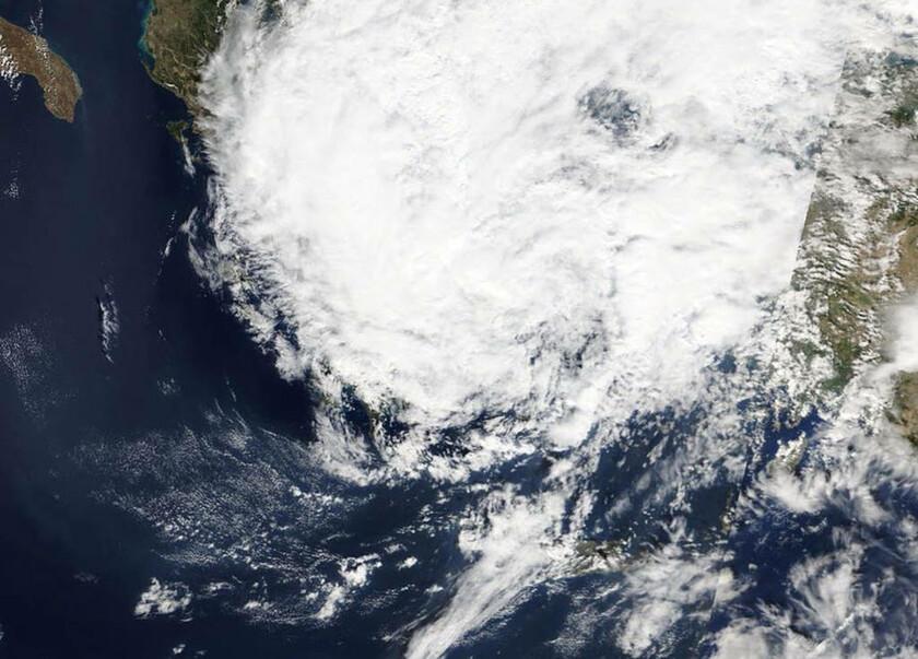 29 Σεπτεμβρίου - Ελλάδα: Κυκλώνας Ζορμπάς