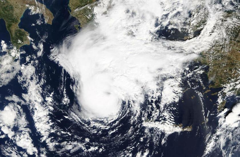 28 Σεπτεμβρίου - Ελλάδα: Κυκλώνας Ζορμπάς