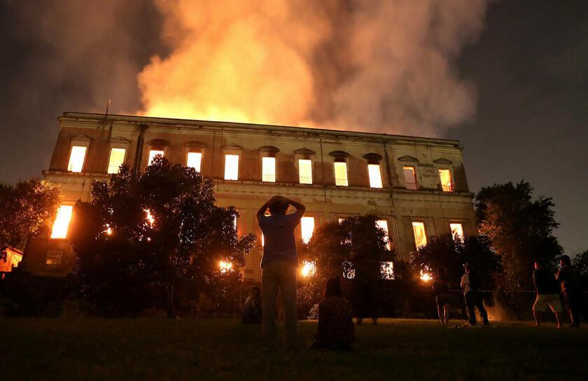 2 Σεπτεμβρίου - Βραζιλία: Καταστροφή! Στις φλόγες το Εθνικό Μουσείο στο Ρίο ντε Τζανέιρο