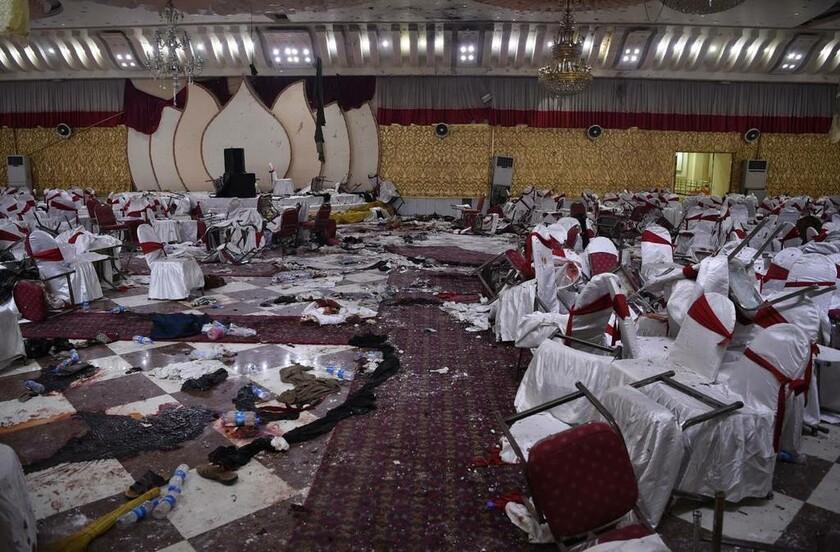20 Νοεμβρίου - Αφγανιστάν: Ό,τι απέμεινε μετά τη βομβιστική επίθεση σε θρησκευτική εορτή στην Καμπούλ