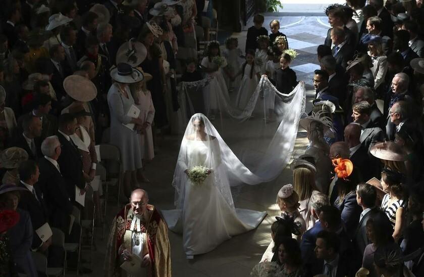 19 Μαΐου - Αγγλία: Ο γάμος της χρονιάς. Η Μέγκαν Μαρκλ στο παρεκκλήσι του Αγίου Γεωργίου