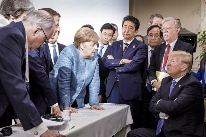 9 Ιουνίου - Καναδάς: Τραμπ εναντίον όλων στη σύνοδο των G7 στο Κεμπέκ