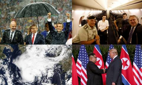 Ανασκόπηση 2018: Οι φωτογραφίες που «σημάδεψαν» τη χρονιά που φεύγει