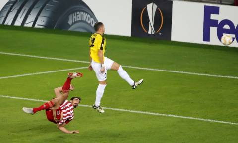 Europa League: Η γκολάρα του Λάζαρου στο top-10 (video)