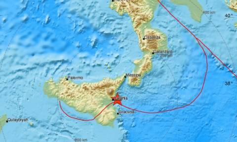 Ιταλία: Σεισμός αναστάτωσε τους κατοίκους στη Σικελία (pics)