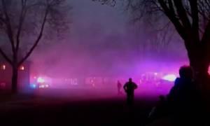 ΗΠΑ: Αεροπλάνο συνετρίβη πάνω σε σπίτια στη νότια Ντακότα - Ένας νεκρός (vid)