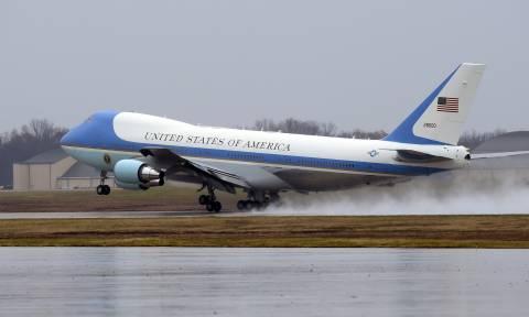 Πυκνό μυστήριο με το Air Force One: Τι συνέβη με το αεροσκάφος του Τραμπ