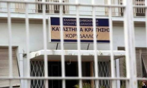 Νεκρός βρέθηκε στις φυλακές Κορυδαλλού 27χρονος κρατούμενος