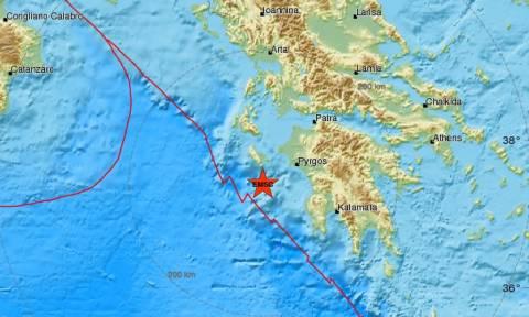 Σεισμός: Μετασεισμός νότια της Ζακύνθου (pics)