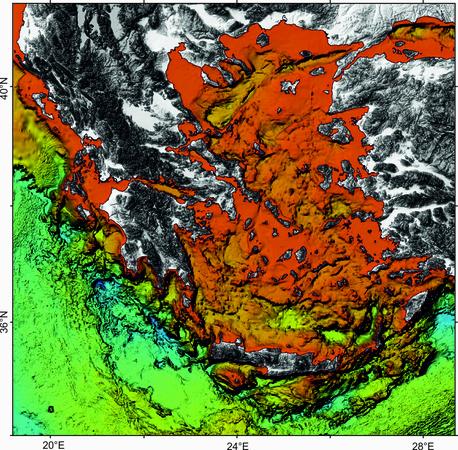 Μορφολογία του βυθού στο Αιγαίο και το Ιόνιο Πέλαγος