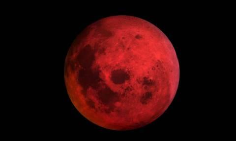 Έρχεται το «Σούπερ Ματωμένο Φεγγάρι του Λύκου»: Το απόκοσμο φαινόμενο που συνδέουν με την Αποκάλυψη
