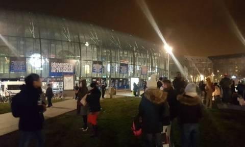 Εκκενώθηκε ο σιδηροδρομικός σταθμός του Στρασβούργου λόγω «ύποπτου» αντικειμένου (pics)