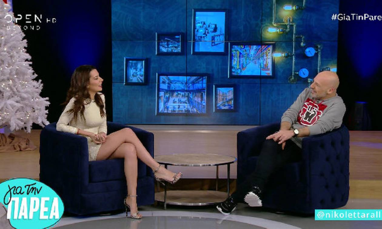 Νικολέττα Ράλλη: Απαντάει πρώτη φορά on camera στην ερώτηση αν θα παντρευτει με τον Γιώργο Μαυρίδη!