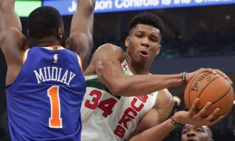 NBA: «Καθάρισε» ξανά τους Νικς ο Γιάννης (vid)