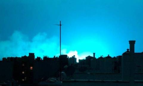 Αναστάτωση στη Νέα Υόρκη από τον... μπλε ουρανό - Νόμιζαν ότι ήταν εξωγήινοι (vid)