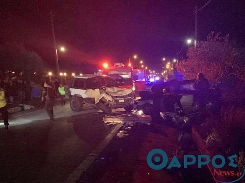 ΣΟΚ: Τροχαίο στην Εθνική Οδό Κυπαρισσίας - Πύργου με 3 νεκρούς και τραυματίες (vid)