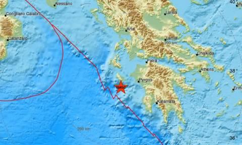Σεισμός: Μετασεισμός κοντά στη Ζάκυνθο - Αισθητός στο νησί (pics)