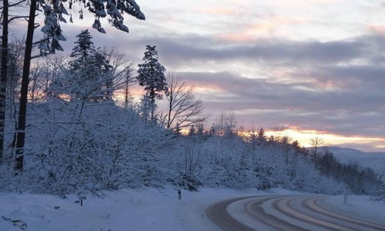 Καιρός: Έτσι κατέγραψε τη χιονοκάλυψη της 26ης Δεκεμβρίου ο δορυφόρος (pic)
