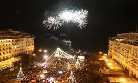 Πρωτοχρονιά: Με πυροτεχνήματα θα υποδεχτεί η Θεσσαλονίκη το 2019