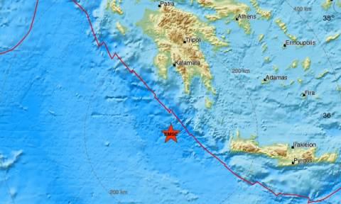Σεισμός νότια της Καλαμάτας (pics)
