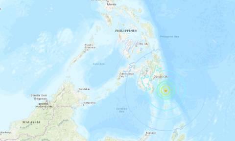Ισχυρός σεισμός 7 Ρίχτερ συγκλόνισε τις Φιλιππίνες