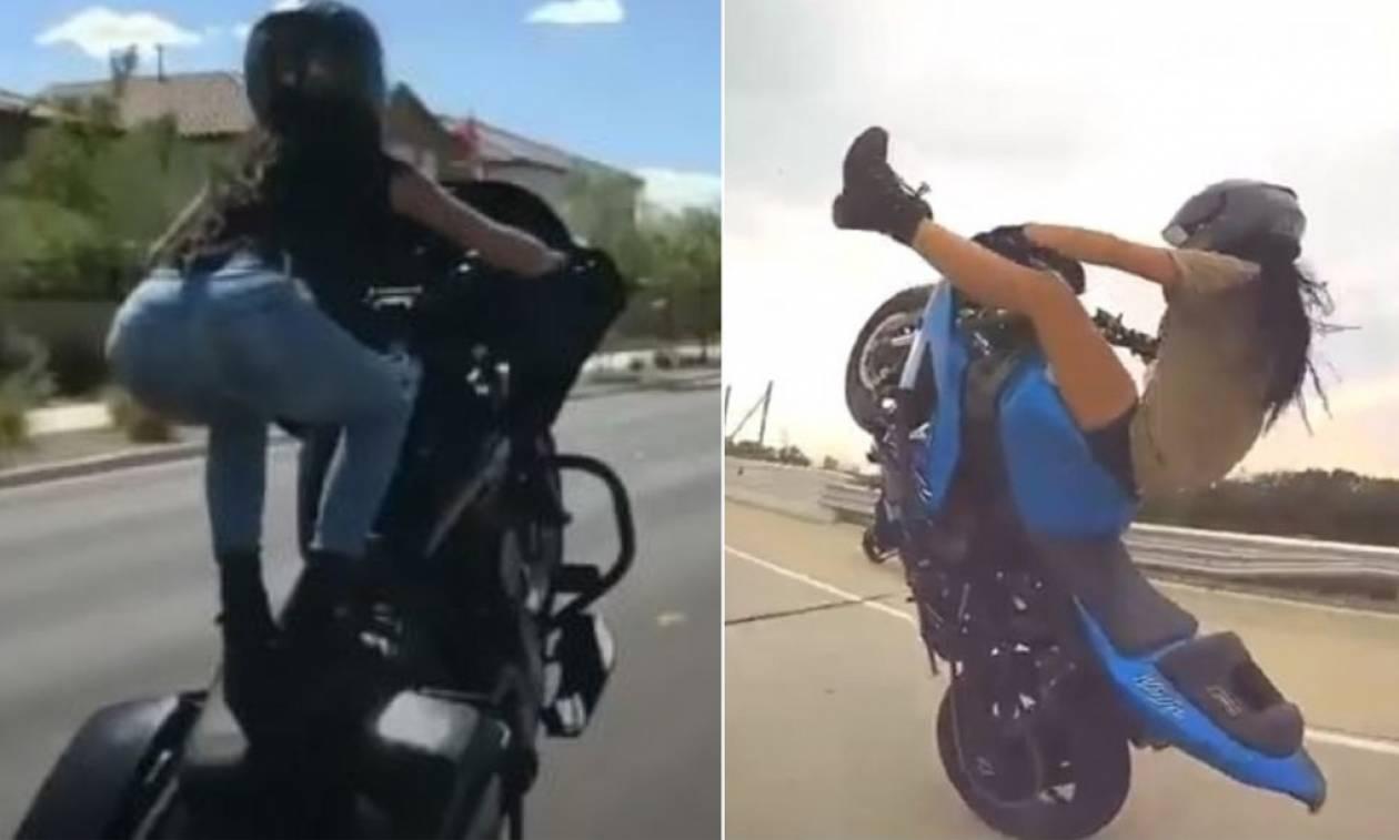 Γυναικάρα κάνει... σούζες και τρελαίνει κόσμο! (video)