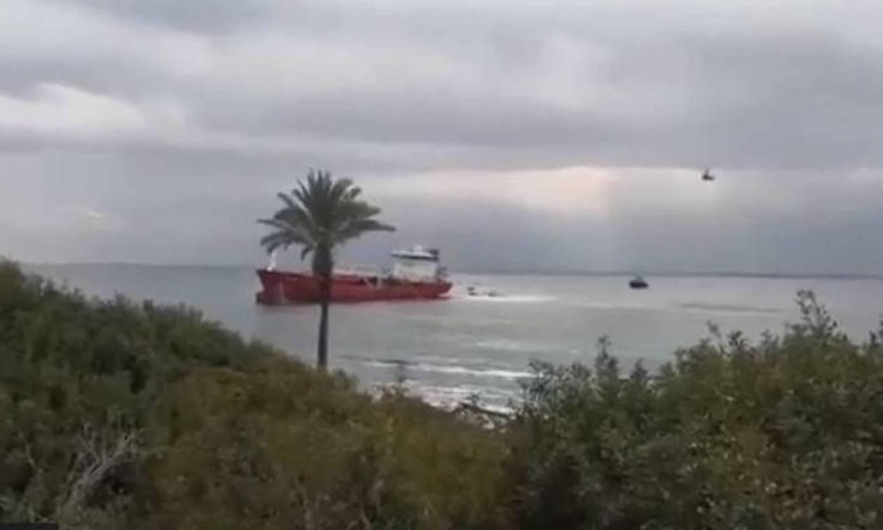 Κύπρος: Έκρηξη σε τάνκερ με πέντε τραυματίες