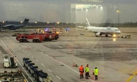 Μπούκαρε στο αεροδρόμιο του Ανόβερου και «κυνήγησε» αεροσκάφος της Aegean